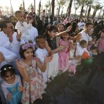 King Abdullah Humanitarian Foundation receives the Eid with an entertainment program for families and children